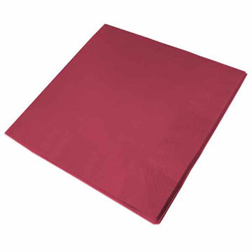 Picture of 40cm/2 Ply Burgundy Napkins (16x125)