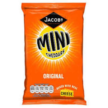 Picture of McVitie's Mini Cheddars Big Bag (30x50g)