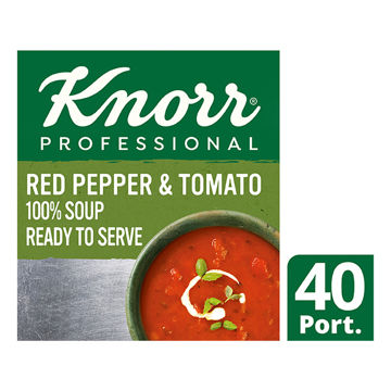 Picture of 100% Red Pepper & Tomato Soup (4x2.5kg)