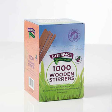 Picture of Wooden Stirrers (10x1000)