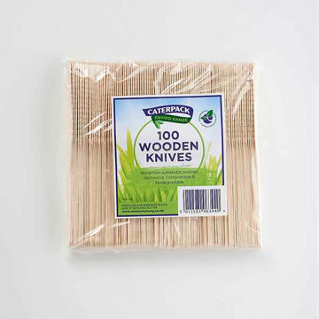 Picture of Enviro Wooden Knives (10x100)