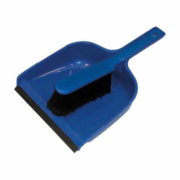 Picture of Dust Pan & Brush Set (Soft) Blue (24)