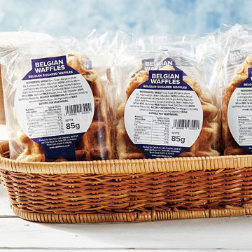 Picture of Belgian Sugared Waffles (individually wrapped) (20 x 85g)
