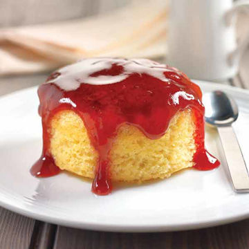 Picture of Jam Sponge Puddings (round) (12x130g)