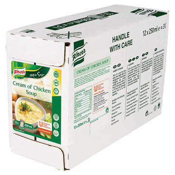 Picture of 100% Cream of Chicken Soup (12x250ml)