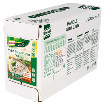 Picture of 100% Wild Mushroom Soup (12x250ml)