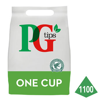 Picture of PG Tips 1 Cup Tea Bags (2x1100)