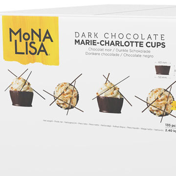 Picture of Mona Lisa Marie-Charlotte Chocolate Cups (2.4kg)