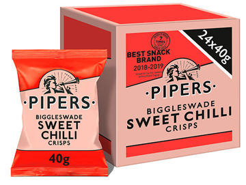 Picture of Biggleswade Sweet Chilli Crisps (24x40g)
