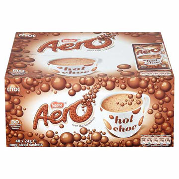 Picture of Aero Instant Hot Chocolate Sachets (40x24g)