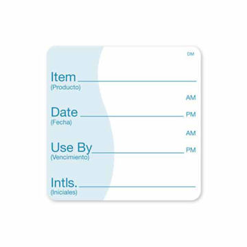 Picture of Item/Date/Use By Labels (250)