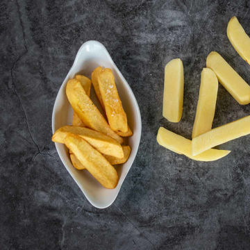 Picture of 25mm Hand Cut Chunky Chips (5kg)